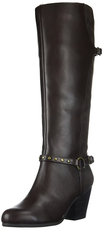 Aerosoles Women's Sensitivity Knee High Boot B005BIBWTO 8.5 M US|Brown Combo