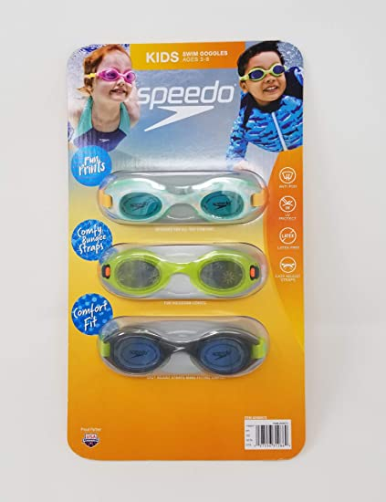 New Adjustable Choice Color Swim Pool goggles Childs ages 3