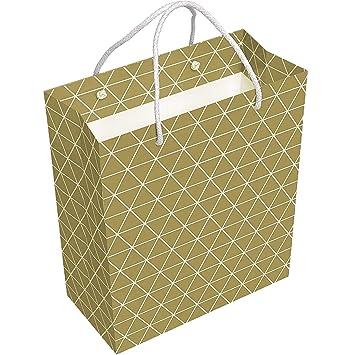 Amazon.com: Bolsas de regalo con asa de cuerda, 15 unidades ...