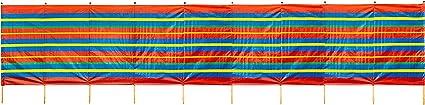 LIVIVO NEW 4 6 8 10 POLE WINDBREAK WIND BREAK WINDBREAKER SCREEN SUN BEACH SHELTER CAMPING
