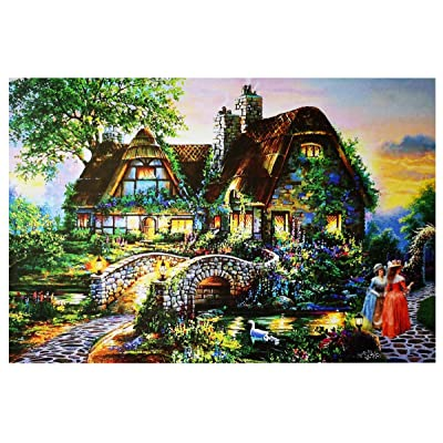 Marvelous Monkey 1000 Pieces - Evening Scenery Jigsaw Puzzles Challenge Game for Adults and Kids: Toys & Games