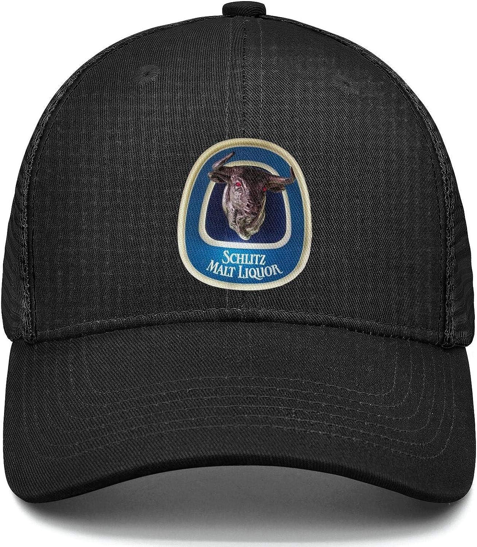 chenhou Unisex Schlitz Malt Liquor Hat Adjustable Fitted Dad Baseball Cap Trucker Hat Cowboy Hat