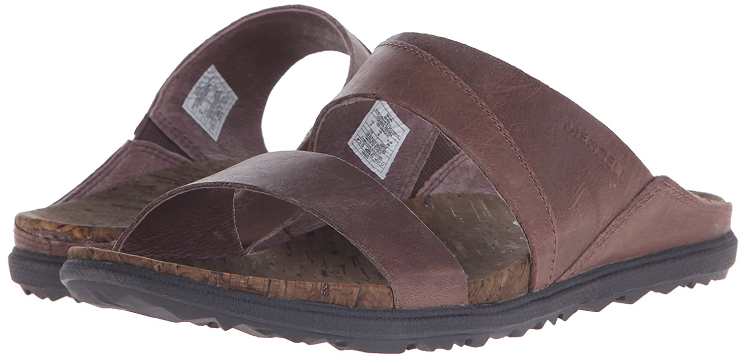 Merrell Women's Around Town Slide Sandal B00YDM7B4Y 9 B(M) US|Brown