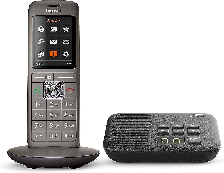 Gigaset CL660A Analog/DECT Telephone Identificador de Llamadas Gris: Amazon.es: Electrónica