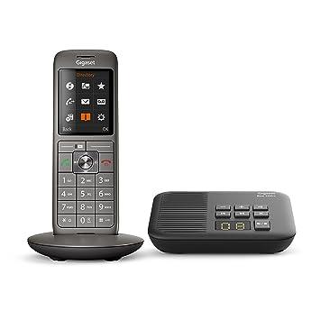 5cd2a163bcd3c3 Gigaset CL660A Solo - Téléphone fixe sans fil - Répondeur - Gris Anthracite