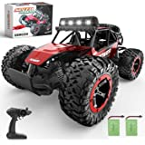 BEZGAR 17 Toy Grade 1:14 Scale Remote Control Car, 2WD High Speed 20 Km/h All Terrains Electric Toy Off Road RC Monster Vehic