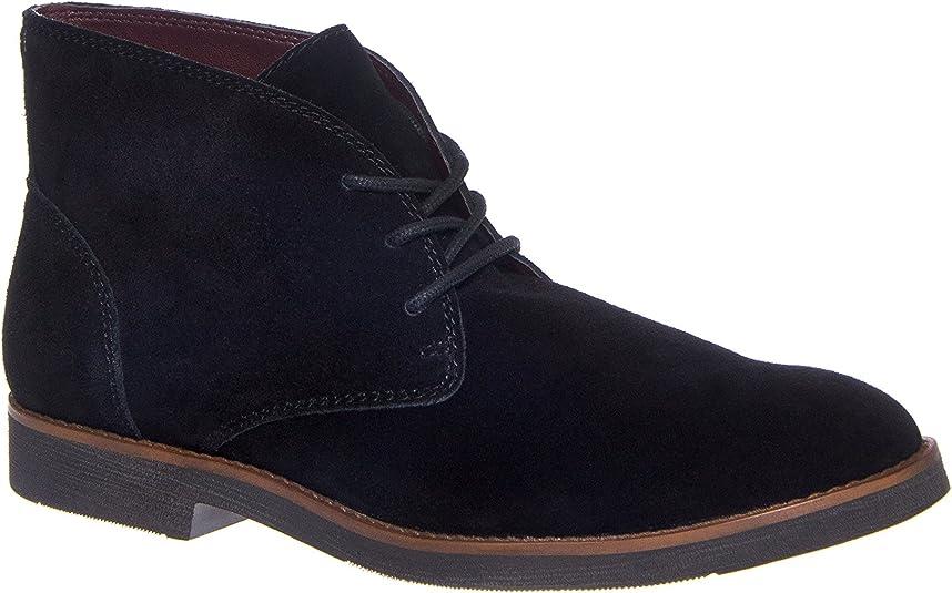 Walk-Over Men's Wallen Black Suede Boot