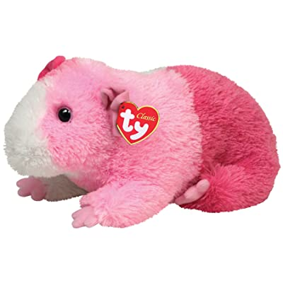 Ty Classic Plush Pinky - Guinea Pig: Toys & Games