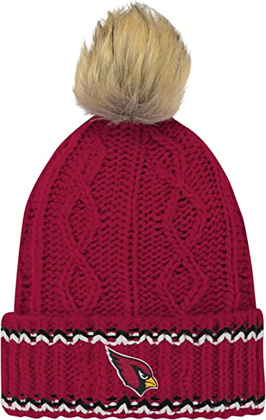 NFL Washington Redskins Youth Outerstuff Jacquard Cuffed Knit Hat With Pom Team Color Youth One Size