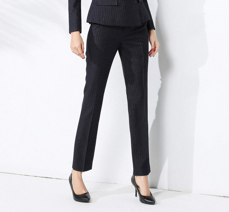 1e10da767 Chaquetas de traje y blazers Trajes y blazers Rojeam Mujer Elegante Clásica  Informal Conjunto de Traje Traje de Negocios Trajes de Vestir Formal Slim  ...