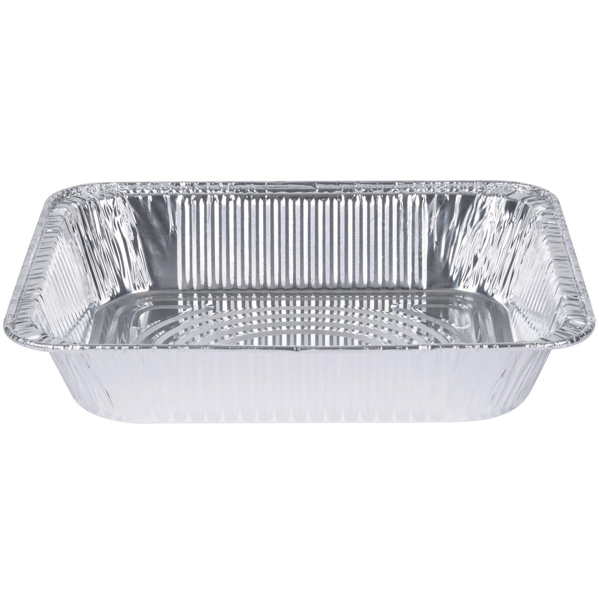 [30 Pack] 9 x 13 Aluminum Foil Pans Half Size Deep Steam Table Pans by Comfy Package (Image #2)