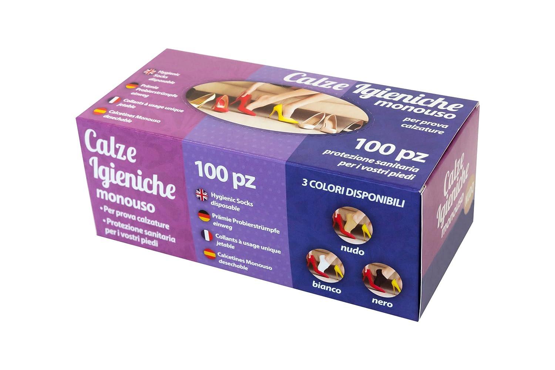Calcetines Monouso Premium Para Probar Calzado (Beige): Amazon.es: Ropa y accesorios