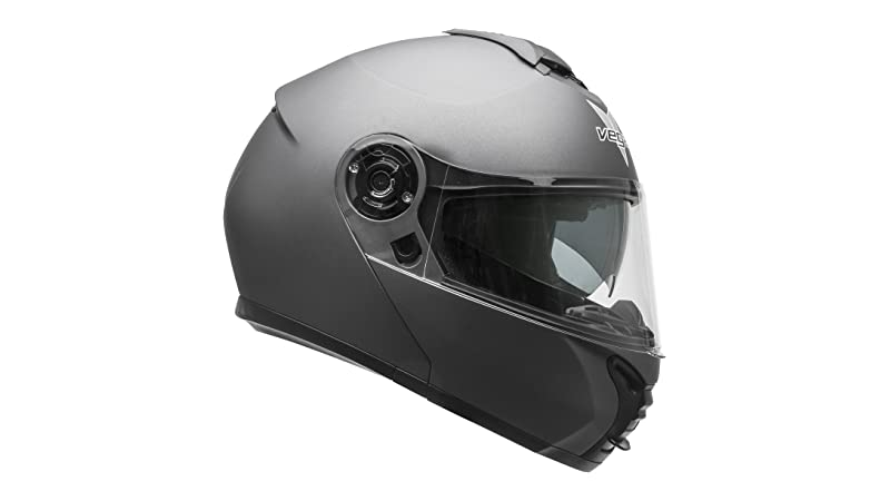 Vega Helmets VR1 Modular Motorcycle Helmet with Sunshield