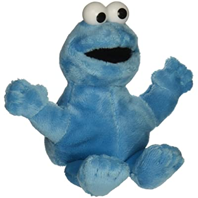 "Gund Sesame Street Cookie Monster Finger Puppet 5.5"" Puppets: Toys & Games"