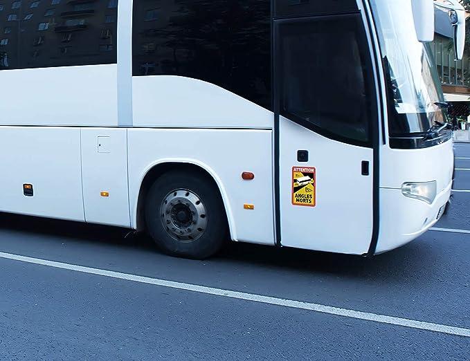 Reflecto Hinweisschild Angles Morts 5 Anbringungsarten Lkw Oder Bus Motiv Entspricht Ral Farbvorgaben Aufkleber Mit Rapidair Technologie 250 X 170 Mm Wohnmobil Bus Motiv Aufkleber Baumarkt