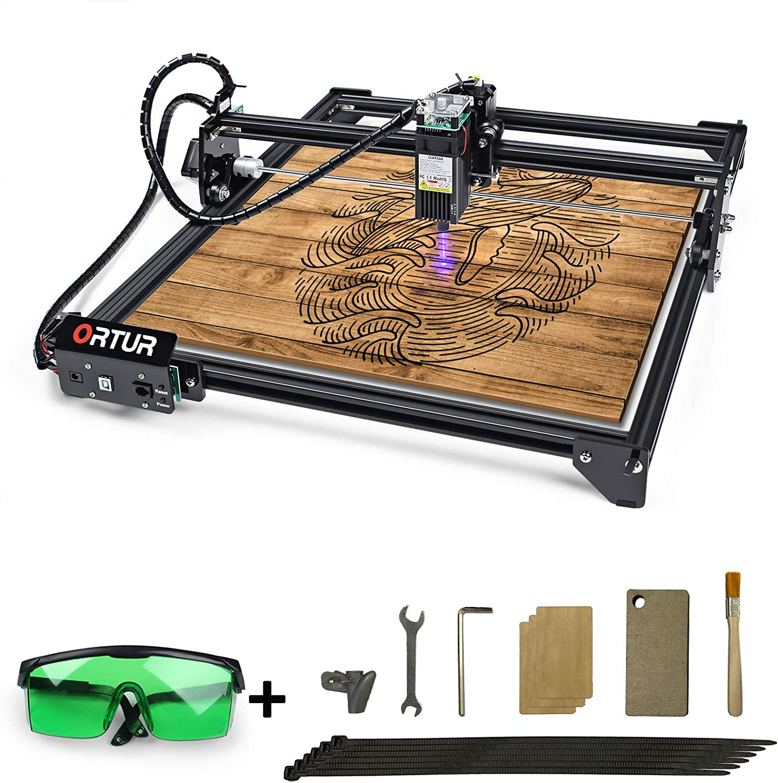ORTUR 32 bit Laser Master 2 Laser 15W//7W//20W Engraving Cutting Machine Printer