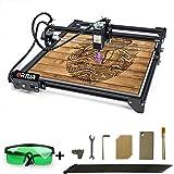 ORTUR Laser Master 2, Laser Engraver CNC, Laser Engraving Cutting Machine, DIY Laser Marking for Metal with 32-bit Motherboar