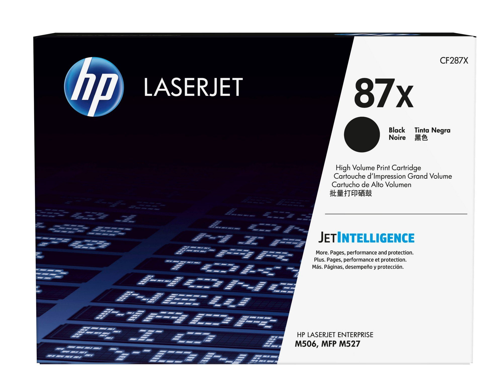 HP 87X (CF287X) Black High Yield Original Toner Cartridge by HP