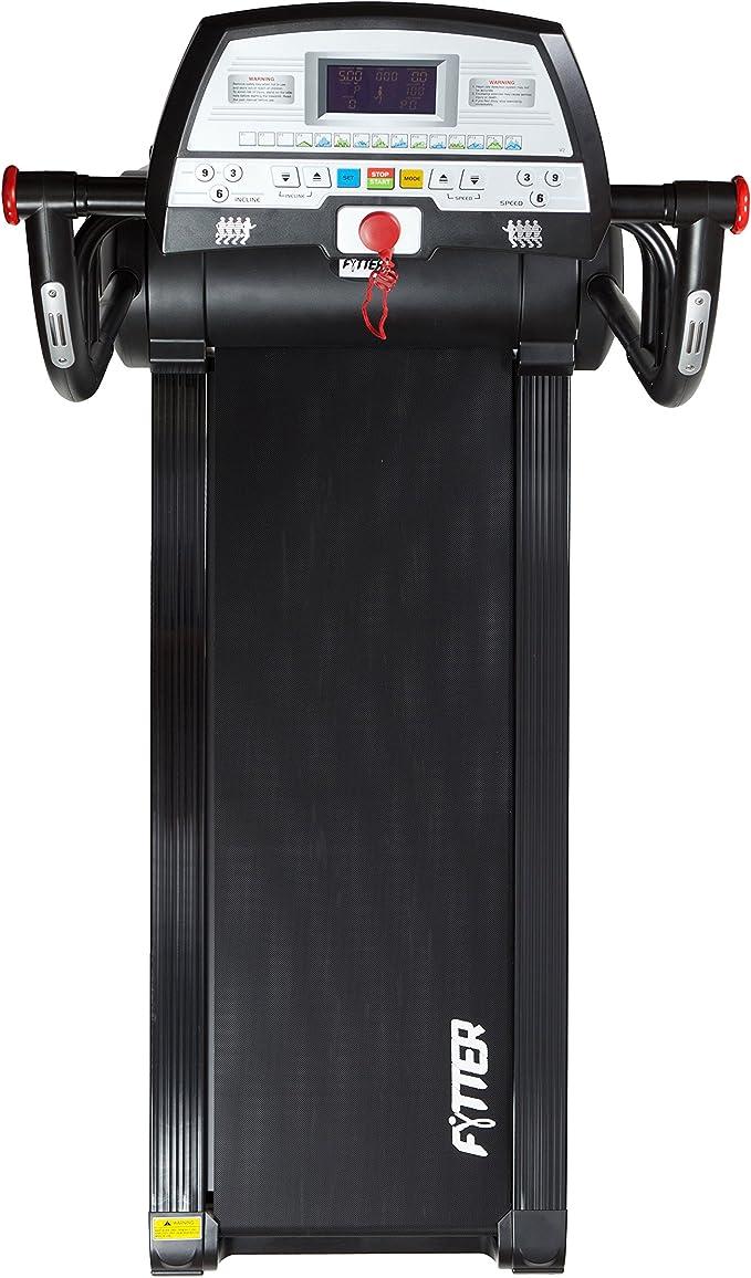 FYTTER Cardio RU007R - Cinta de Correr para Fitness, Color Negro ...
