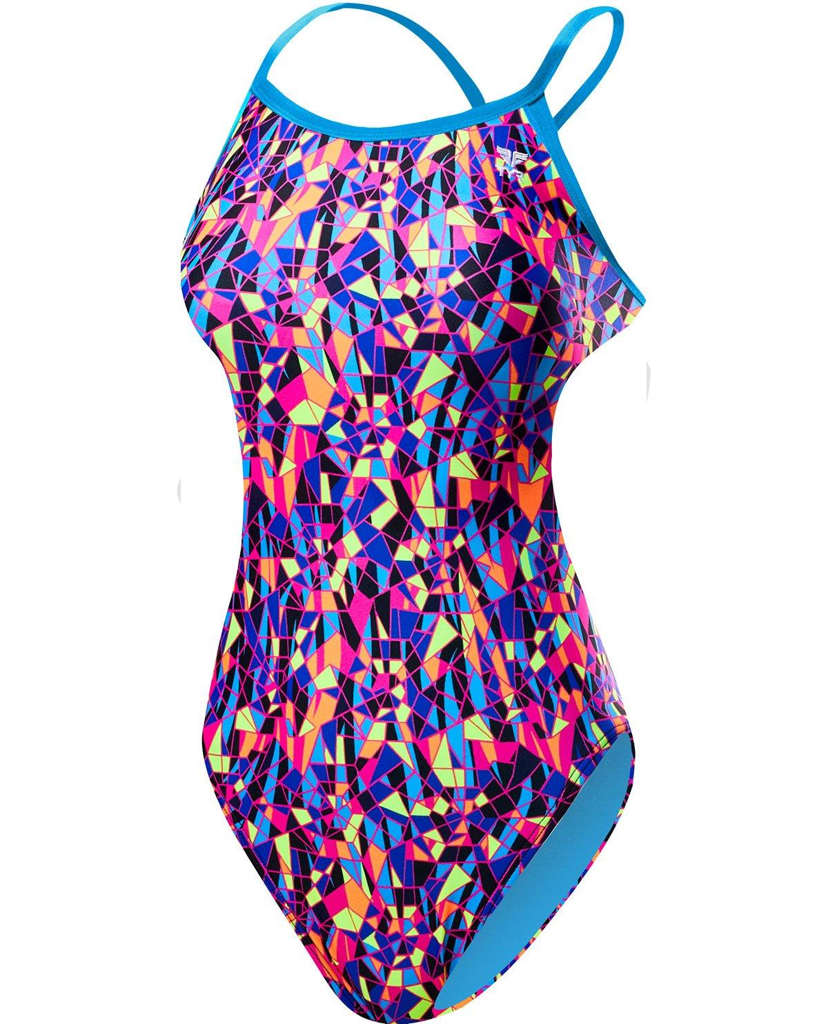TYR Women's Santa Marta Crosscutfit Tieback Swimsuit TCSM7A-P