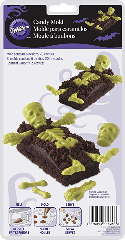 NEW Bat Candy Pick Halloween Candy Mold from Wilton 1423