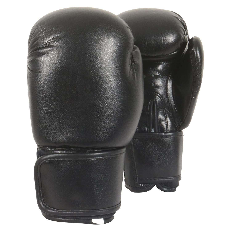 Kids Boxing Gloves 6oz Junior Mitt Punch Bag Children Gel Pad Glove Real Leather