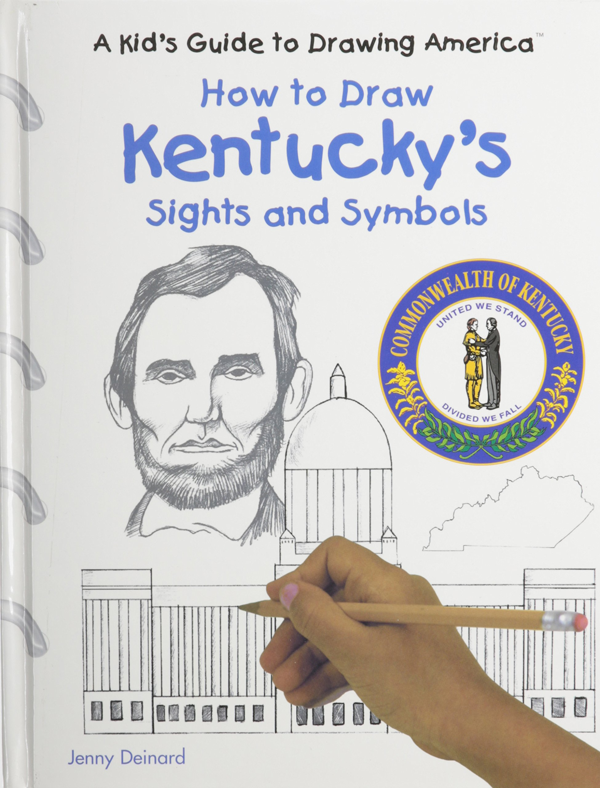 Download Kentucky's Sights and Symbols (Kid's Guide to Drawing America) pdf