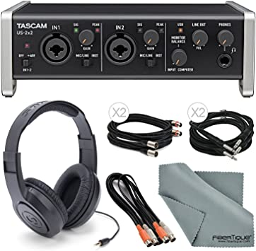 USB cable for Tascam AUDIO INTERFACE US-2x2
