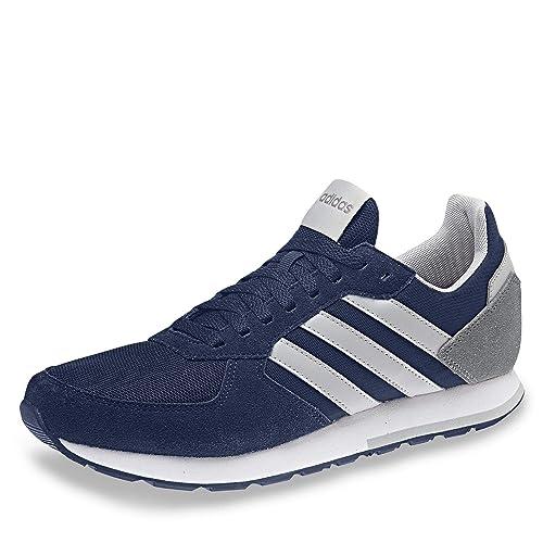 adidas 8K, Zapatillas de Running para Hombre, Azul Dark Blue/Grey Two F17/Grey Three F17, 39 EU: Amazon.es: Zapatos y complementos