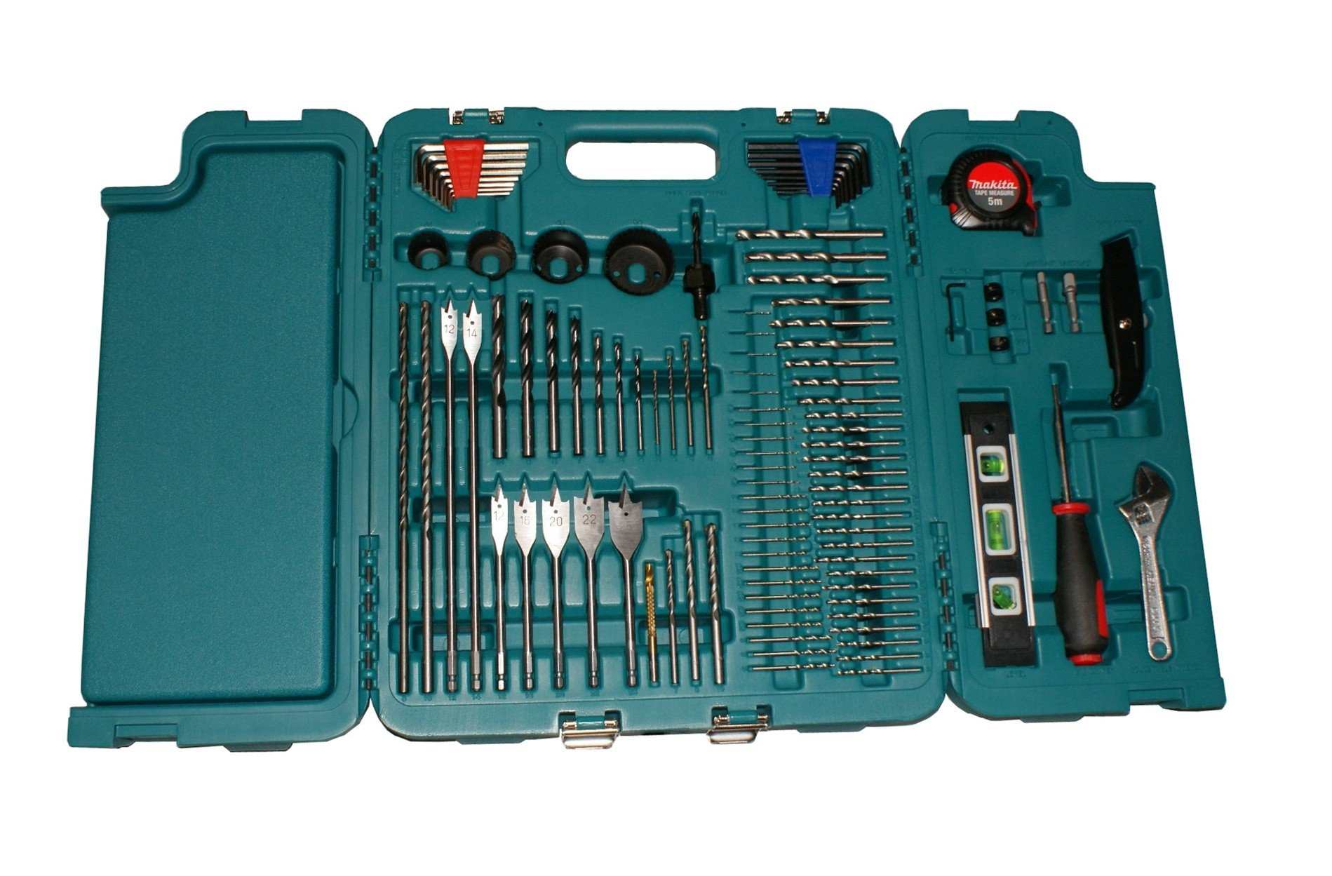 MAKITA 252 PIECE ACCESSORY KIT IN BLOW MOULDED CASE SCREWDRIVER, DRILLBITS GREAT FOR BUILDERS,TRADE,DIY by Makita (Image #3)