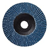 Mercer Industries 267040 Zirconia Flap Disc, High