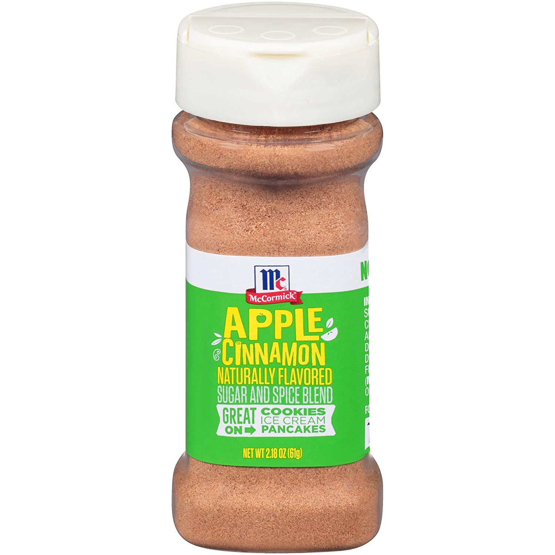 McCormick Blend, Apple Cinnamon Sugar & Spice, 2.18 Ounce