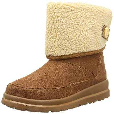 Skechers Women's Cherish courtship Winter Boot (7, Chestnut)