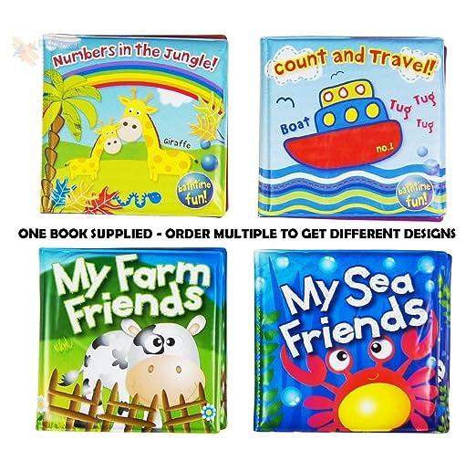 46 opinioni per Libro Morbido da Bagnetto per Neonato Bambino Giocattolo Galleggiante Educativo