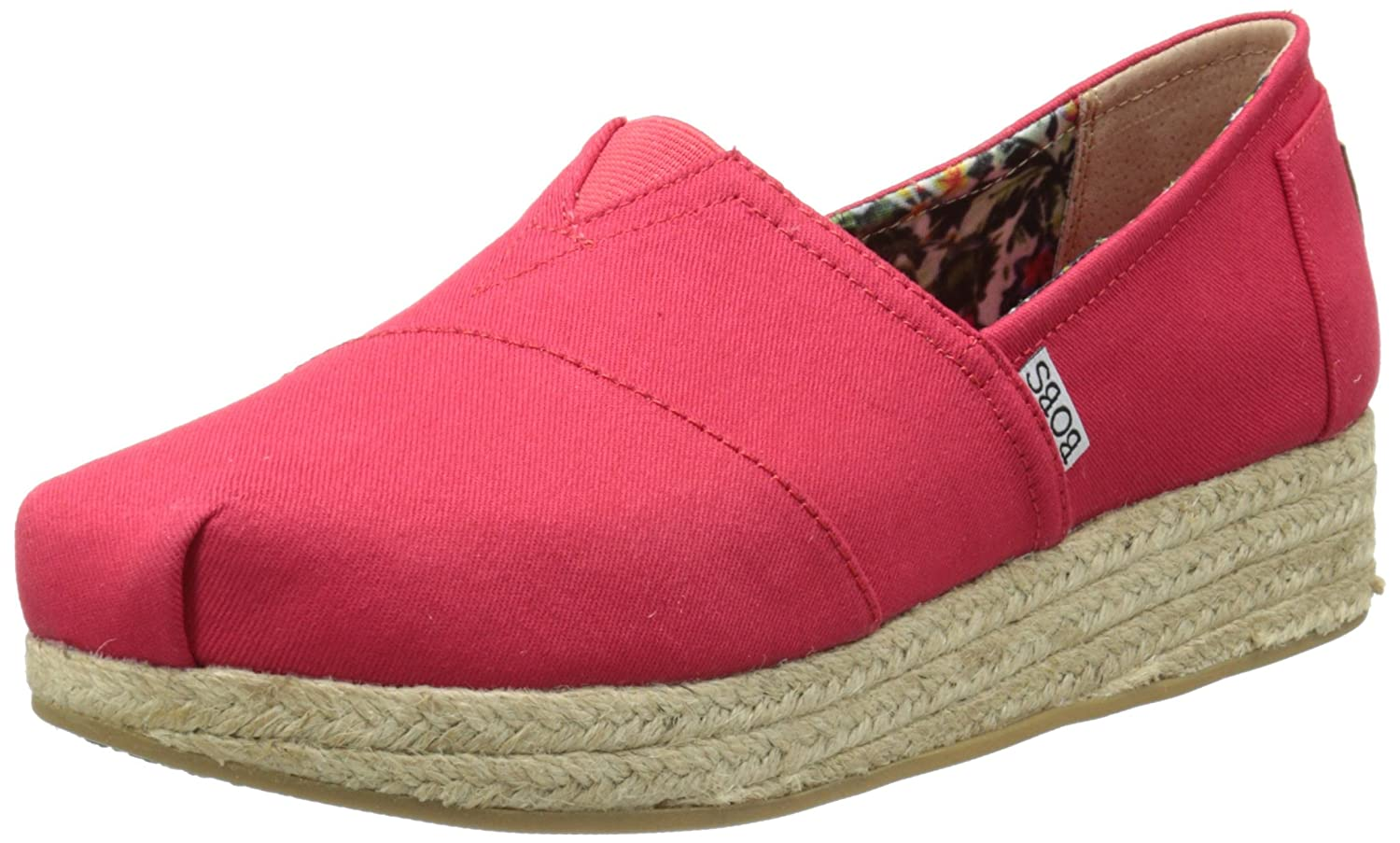 Skechers Damen Highlights Schuh  37 EU|Rot (Red)