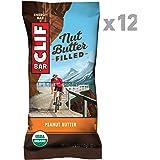 CLIF Nut Butter Filled Bar Peanut Butter, 12 x 50 g