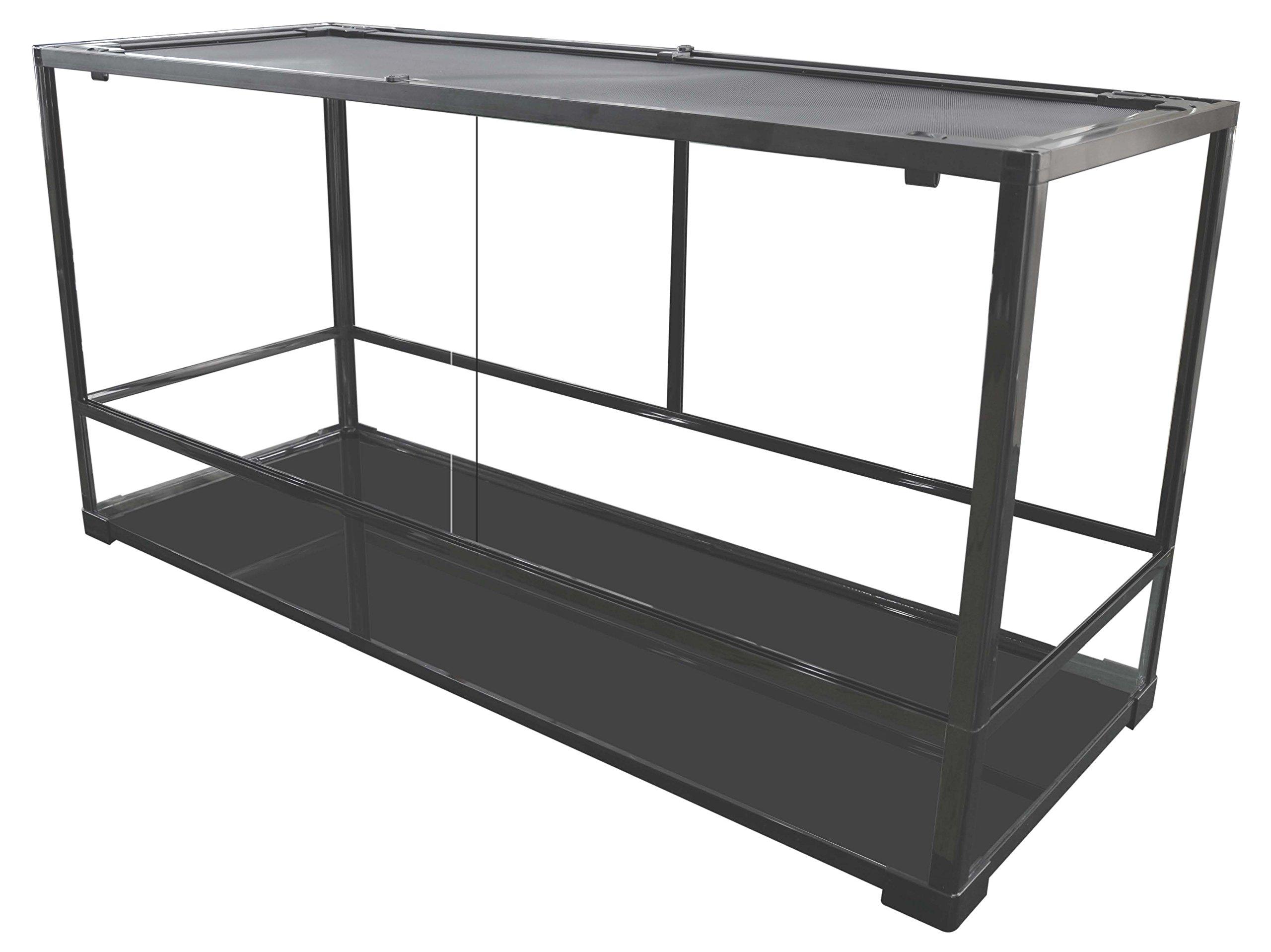 Carolina Custom Cages Terrarium, Tall Extra-Long 48x18x24, Easy Assembly