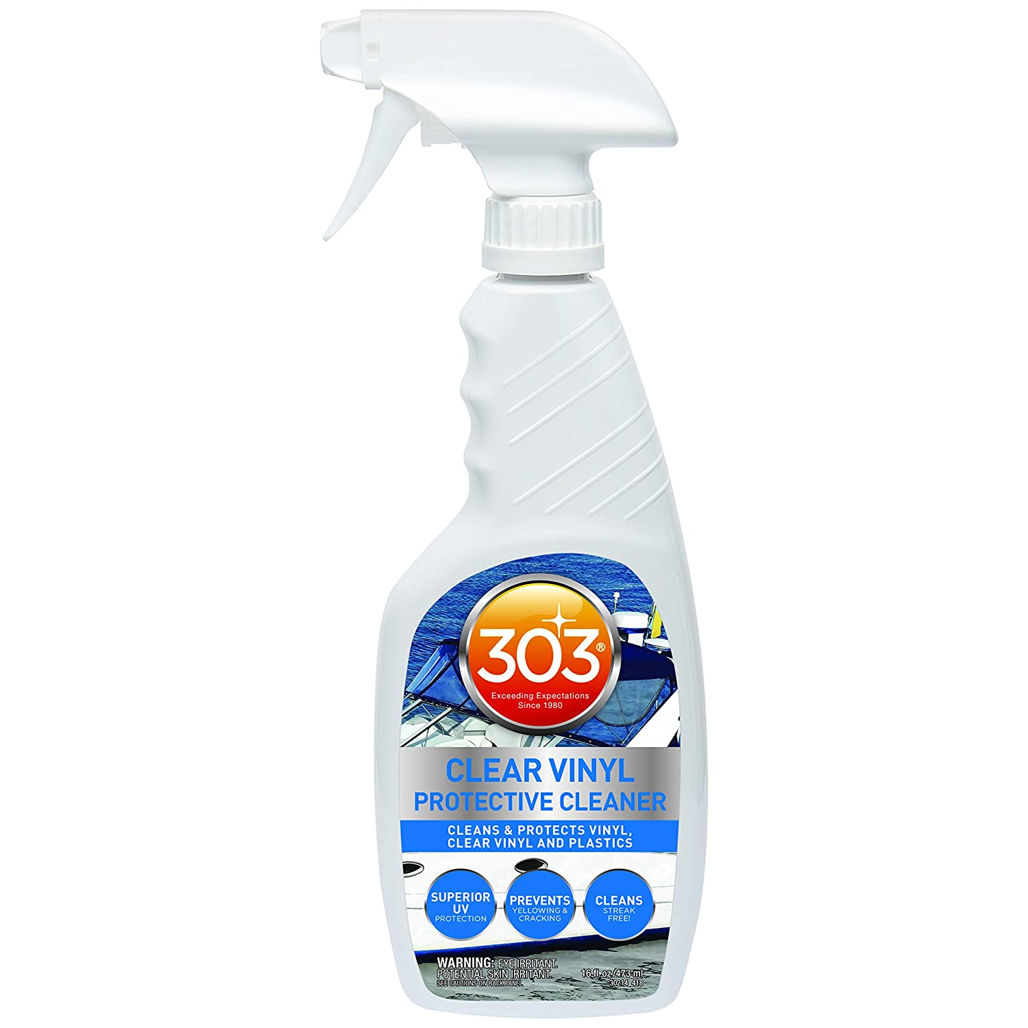 303 30214 Marine and Boat Clear Vinyl Protective Cleaner, 16  Fluid_Ounces