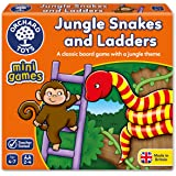 Orchard Toys Mini Game (Counting) - Jungle Snakes and Ladders