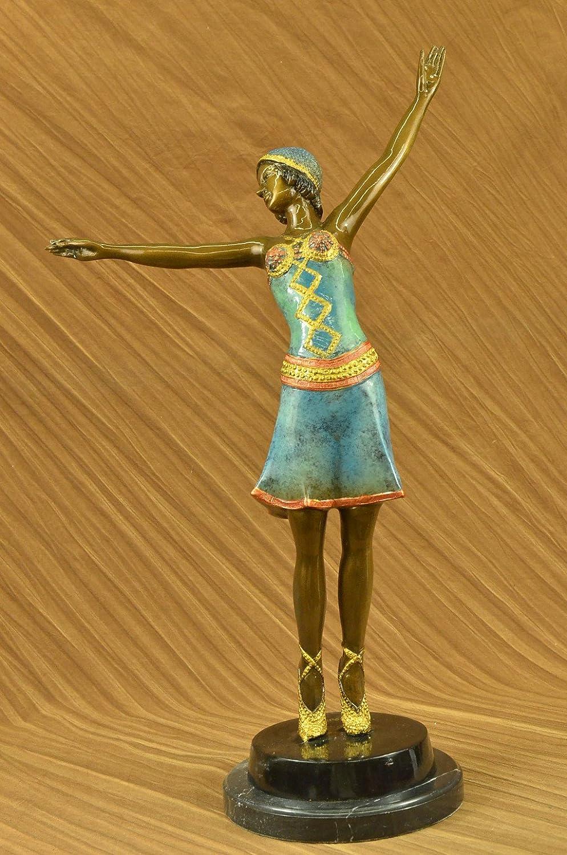 Handmade European Bronze Sculpture Original Vitaleh Nude
