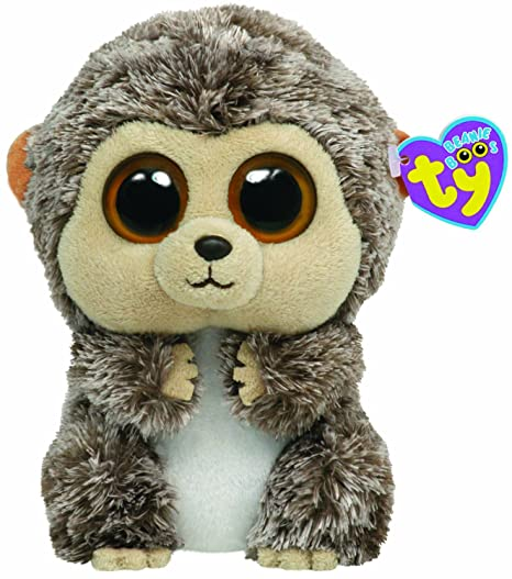 801108743b1 Amazon.com  Ty Beanie Boos Spike - Hedgehog  Toys   Games