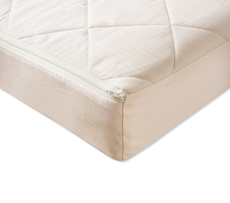 Natural Mat Coco Mat acolchado colchón para cuna (60 x 120 cm): Amazon.es: Bebé