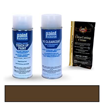 PAINTSCRATCH Rugged Brown Pearl TW/GTW for 2019 Dodge Durango - Touch Up Paint Spray