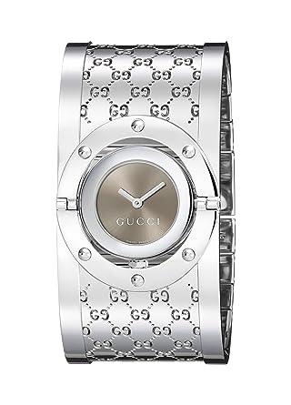 a918e17e713 Gucci Femme Ya112401  quot Twirl quot  Bracelet de montre en acier  inoxydable