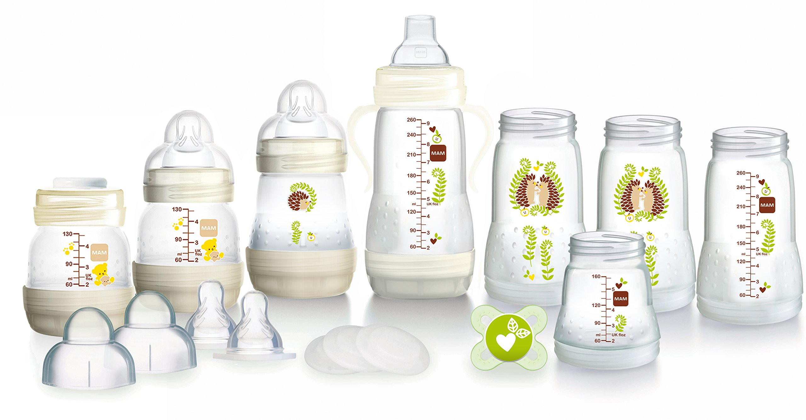 Mam Uk - MAM Self-Sterilising Anti-Colic Bottle Starter Set (Los diseños