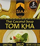 deSIAM Soup, Thai Coconut (Tom Kha), 1.7 Ounce (Pack of 12)