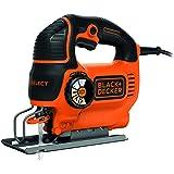 BLACK+DECKER KS801SE Seghetto Alternativo AutoSelect, 550 W, Nero