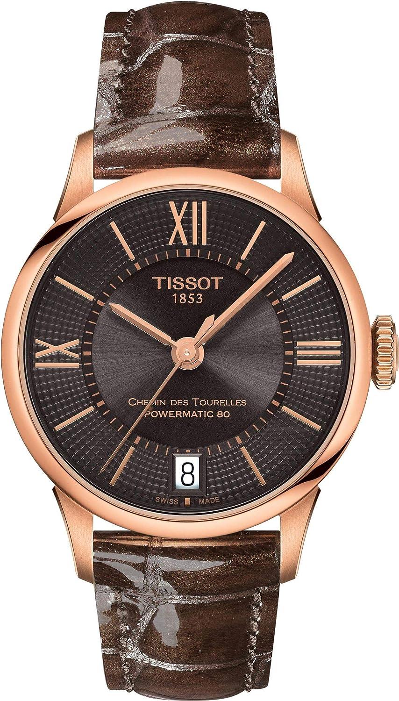 Tissot CHEMIN DES TOURELLES POWERMATIC 80 T099.207.36.448.00 Reloj Automático para mujeres