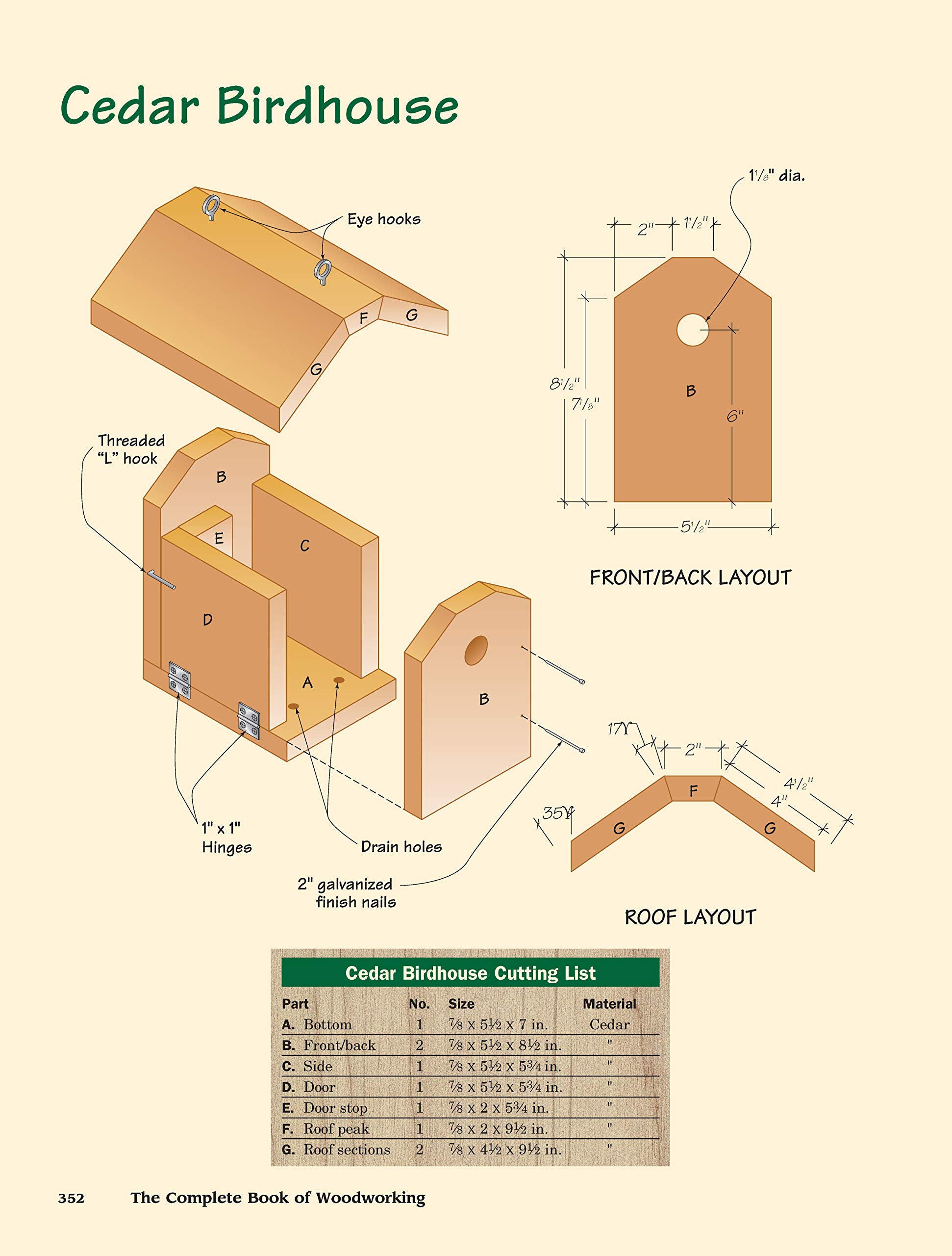 The Complete Book of Woodworking: Step-by-Step Guide to Essential Woodworking Skills, Techniques and Tips (Landauer) More Than 40 Projects with Detailed, Easy-to-Follow Plans and Over 200 Photos by Design Originals (Image #8)
