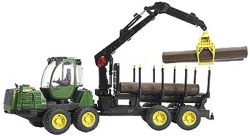 tracteur forestier jouet bruder